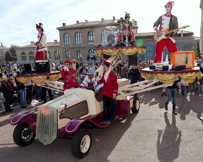 spectacles animations carnaval de rue tacot spectacle