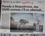 Parade à Roquebrune  Crazy Tacot  Aliens