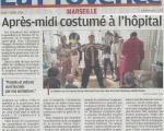 Timone - Carnaval : Après-midi costumé à l'hôpital