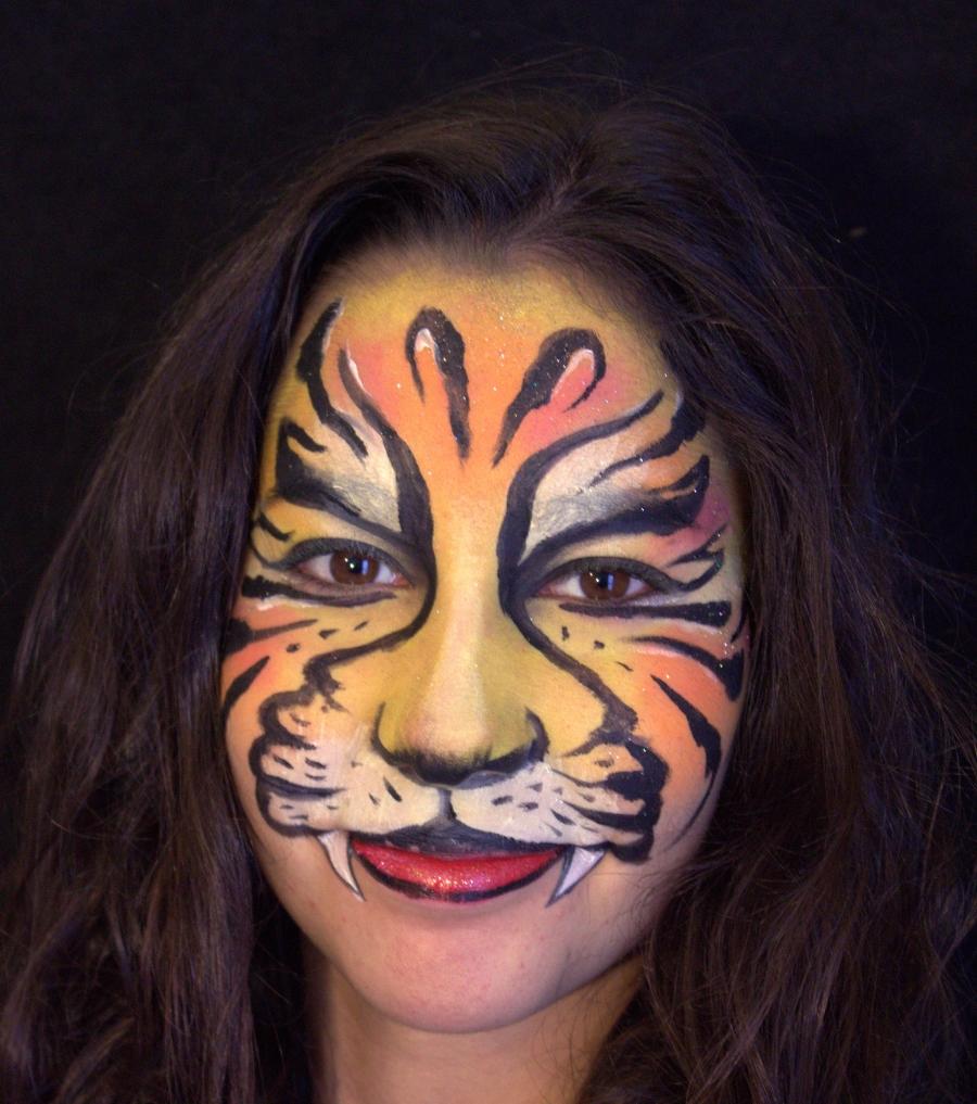 maquillage enfant tigre