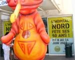 """Animations à l'hôpital Nord """"Hôpital en fête"""""""