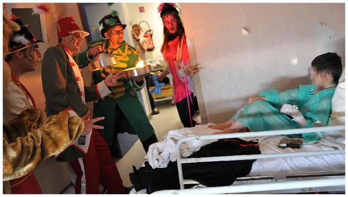 Hôpital - Spectacle et animation e milieu hospitalier pour enfants