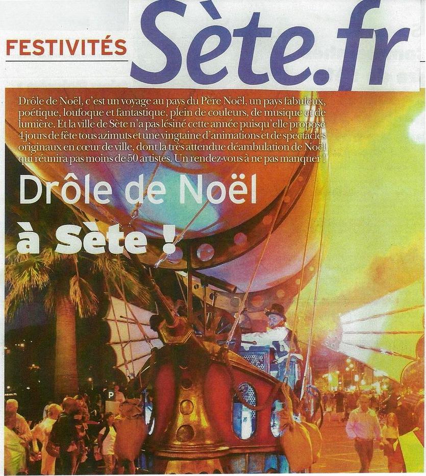 Drôle de Noël à Sète !