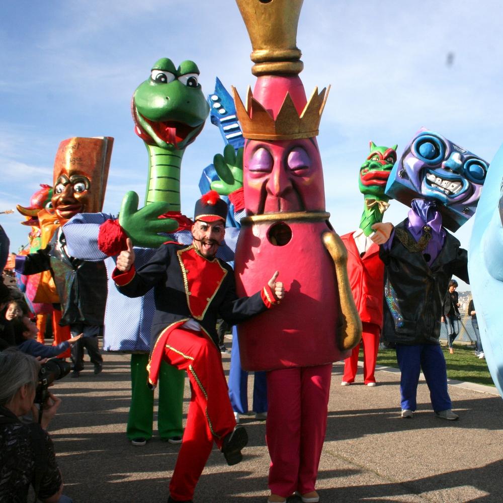 Carnaval animations et déambulations de rue - La Ronde des Géants