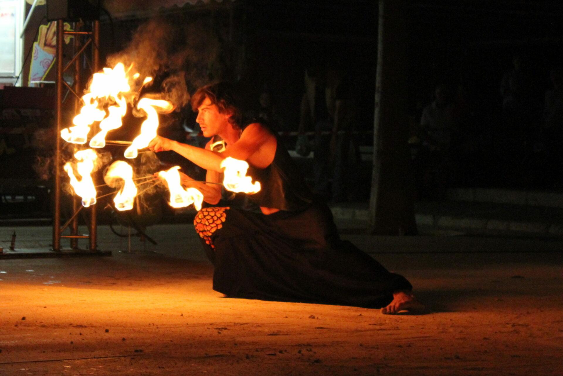 Théâtre Spectacles de feu