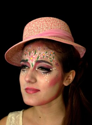 maquillage-fleur