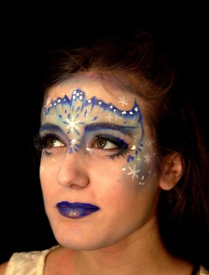 maquillage-masque-reine-des-neiges