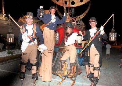 les eclaireurs steampunk